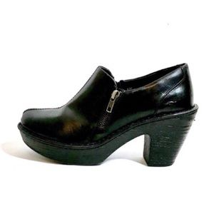 Born soft leather clogs
